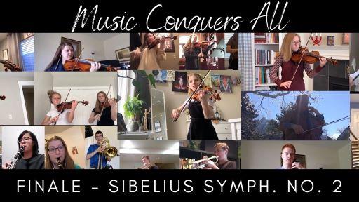 Music Conquers All – Sibelius No. 2 Finale