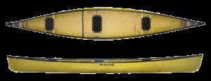 Wenonah Solo Plus Kevlar Canoe - www.PaddlePeople.us