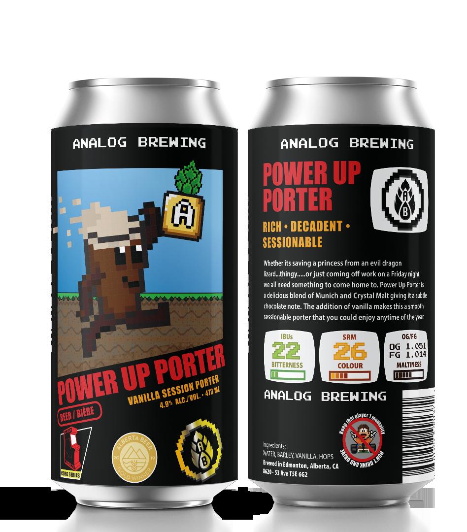 Analog Power Up Porter