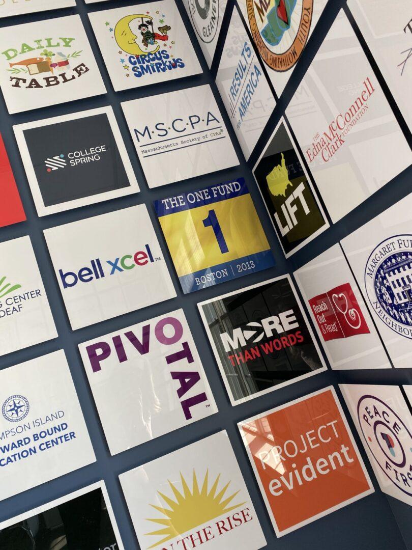 logo wall One Fund