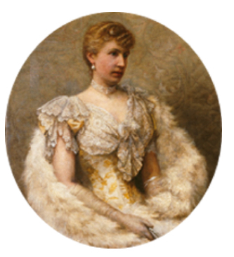 Princess Alice, 1893 Oil on canvas by Louis Maeterlinck (1846-1926) (c) Princely Palace of Monaco