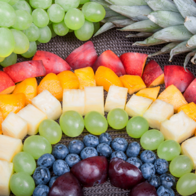 Eating The Rainbow : Choosing Foods Of Different Colours