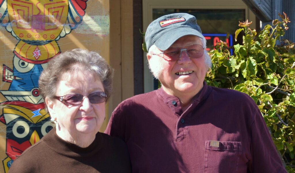 Kathy & Don Eittreim, owners of the Jalama Beach Store
