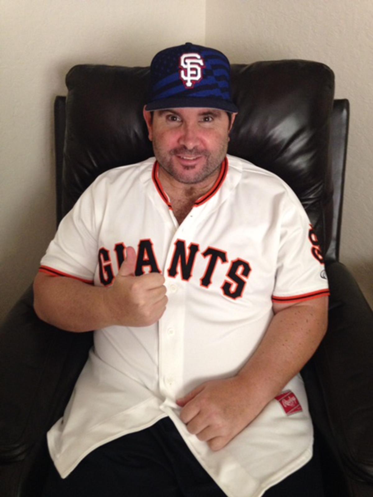Bryan ❤ Giants!