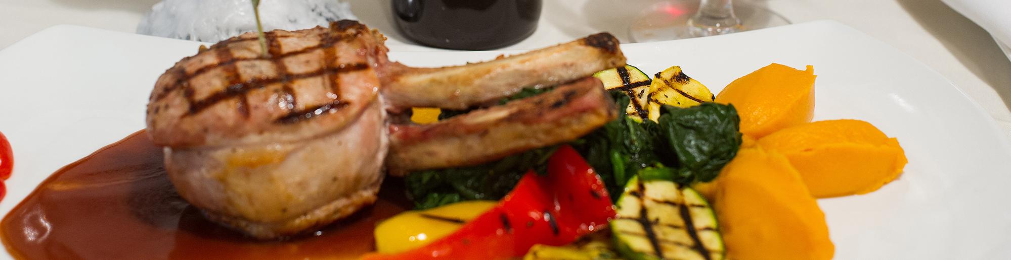 Lambchop Dinner