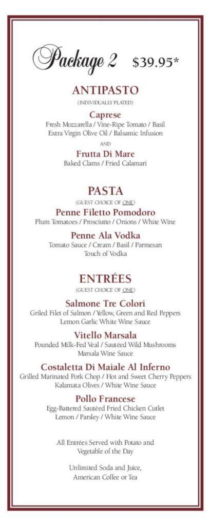 party menu page 1