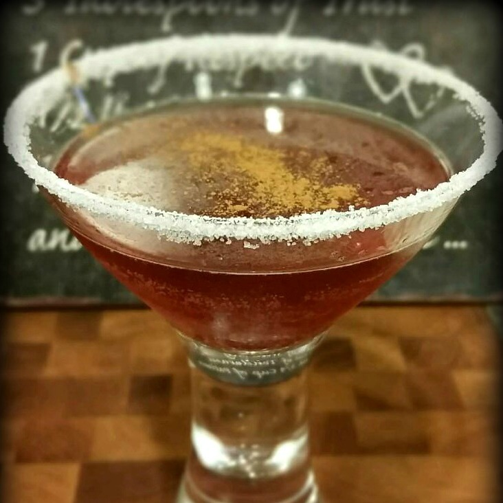 The Frosted Cranberry Cocktail