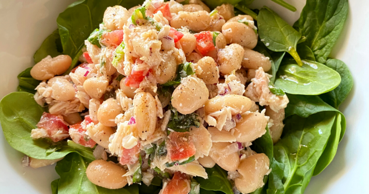 Tuscan Bean Salad with Tuna