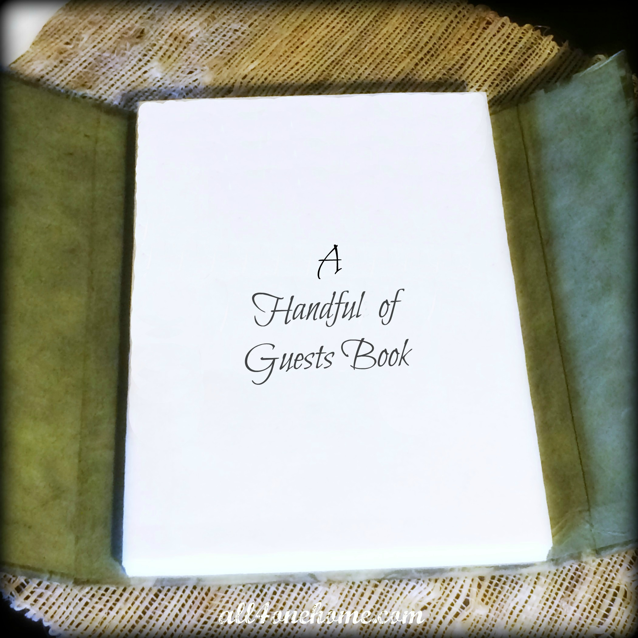 A Handful of Guests Book