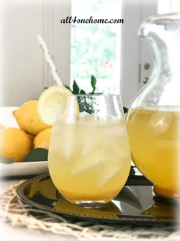 G's Ginger Lemonade