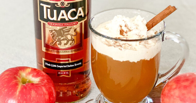 Tuaca Hot Apple Pie Toddy