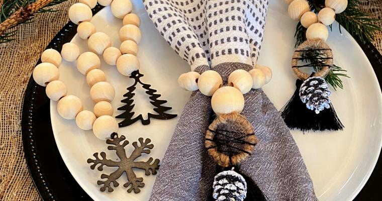 DIY Holiday Napkin Rings