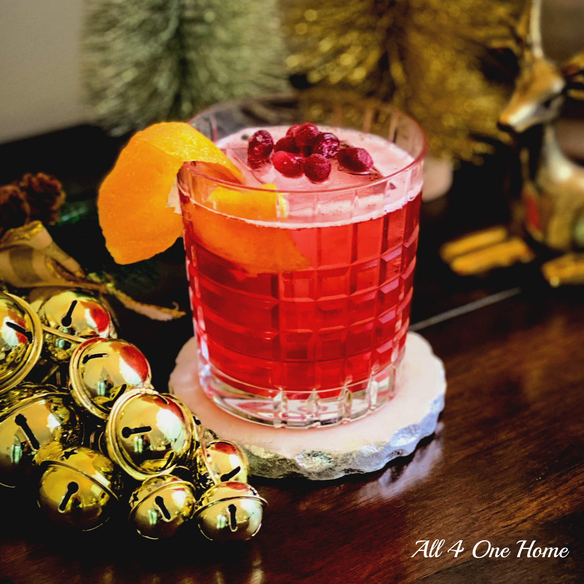 The Sleigh Bell Cocktail