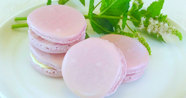 Lemon Vanilla French Macarons