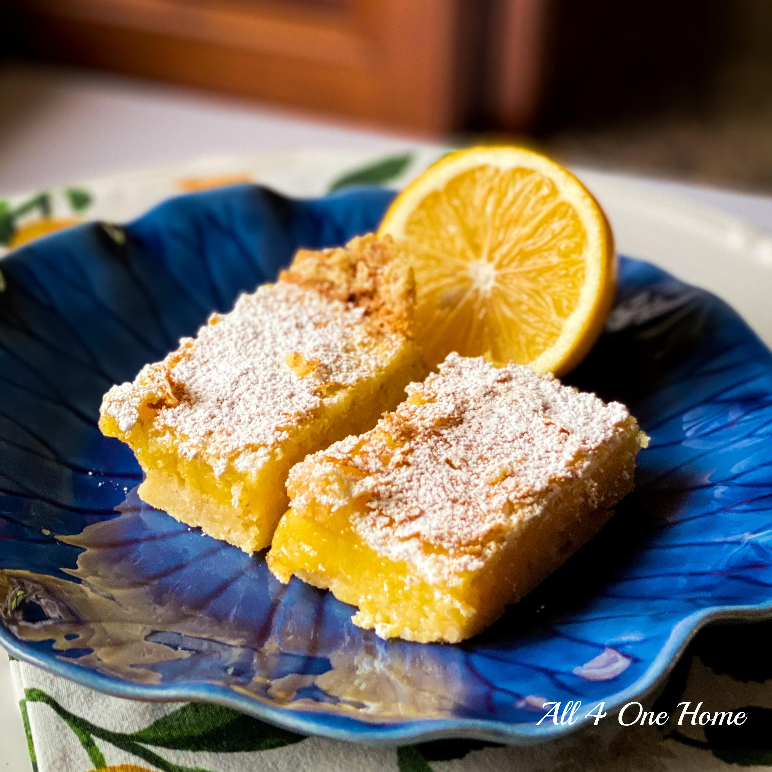 G's Meyer Lemon Bars