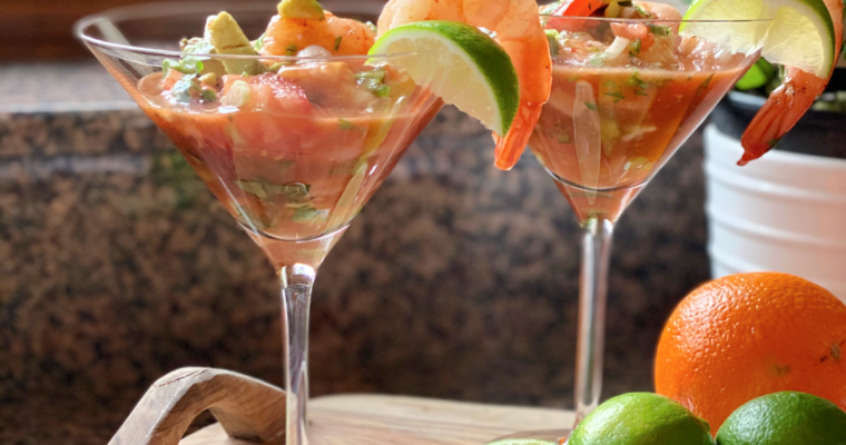 Mexican Shrimp Cocktail