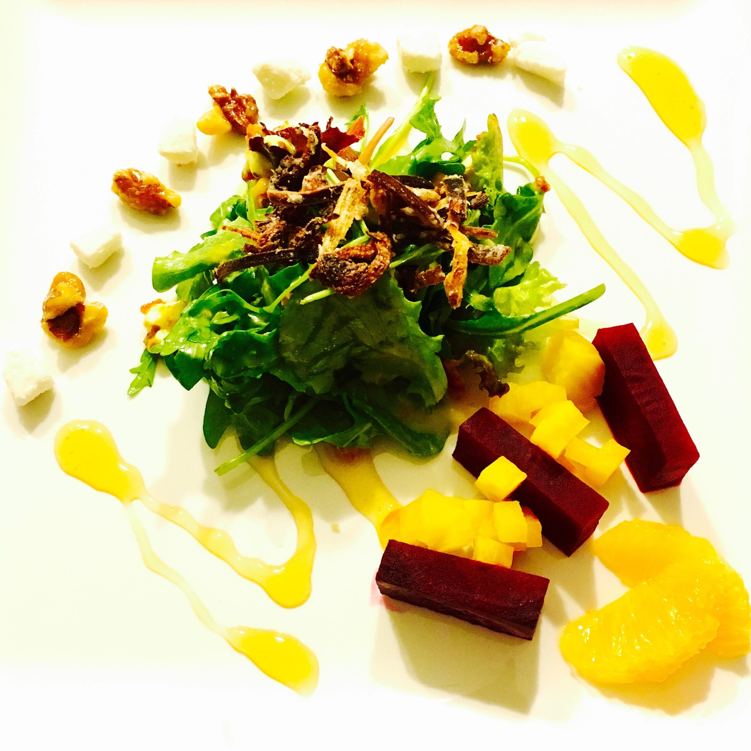 Roasted Beet Winter Salad
