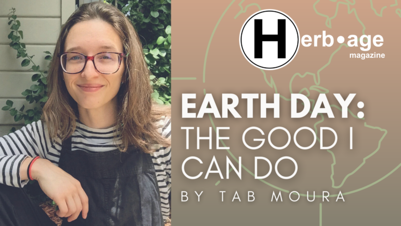 Earth Day: The Good I Can Do