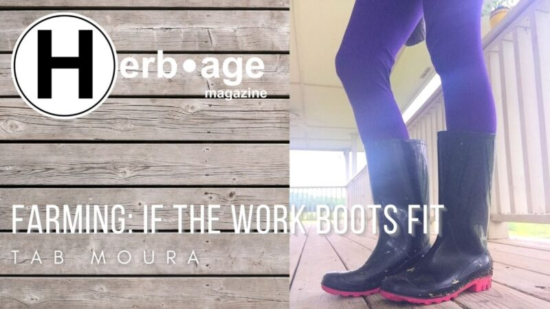 Farming: If The Work Boots Fit