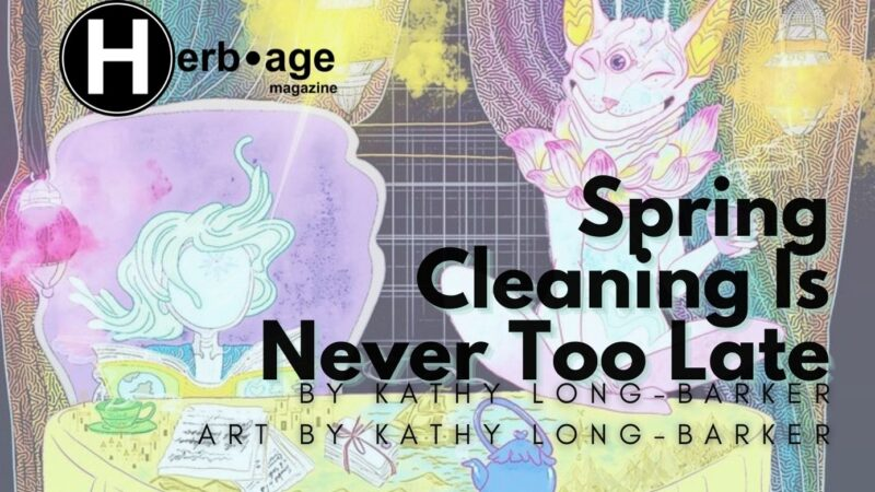 Spring Cleaning Is Never Too Late