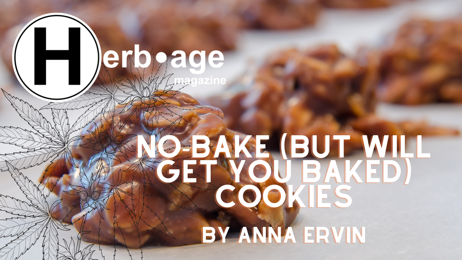 No-Bake (but will get you baked) Cookies