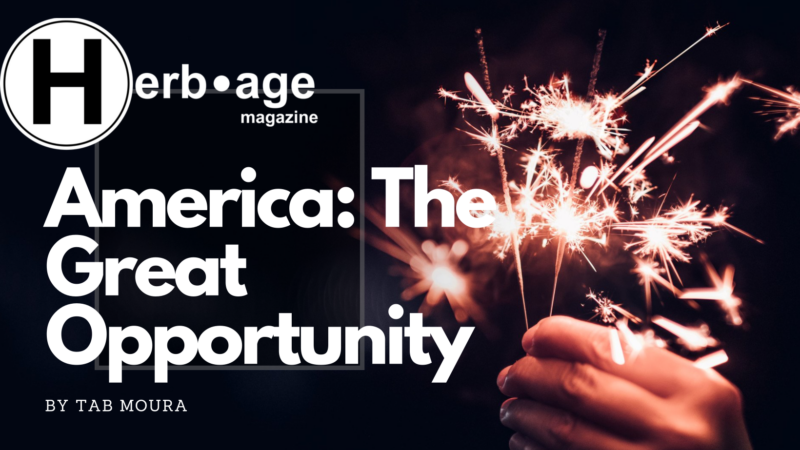 America: The Great Opportunity