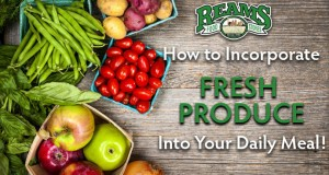 How to Incorporate Fresh Produce Into Your Daily Meal