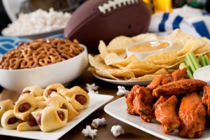Football Finger Foods for the Big Game