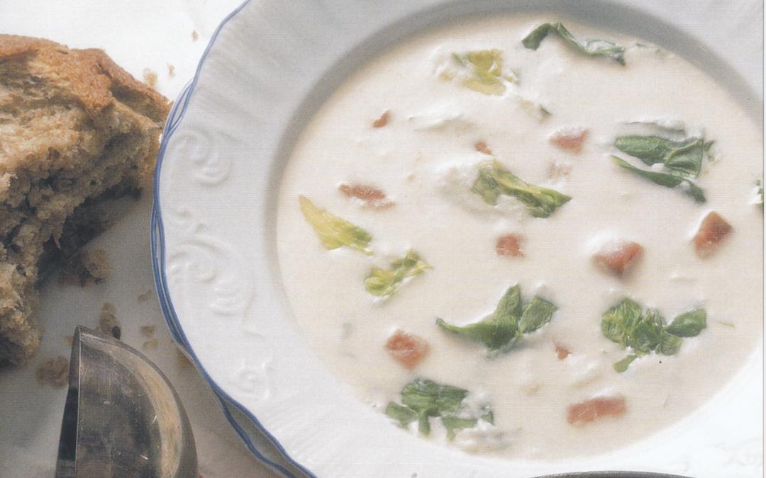 Potato soup makes a filling meal