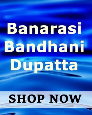 Banarasi Bandhani Dupatta