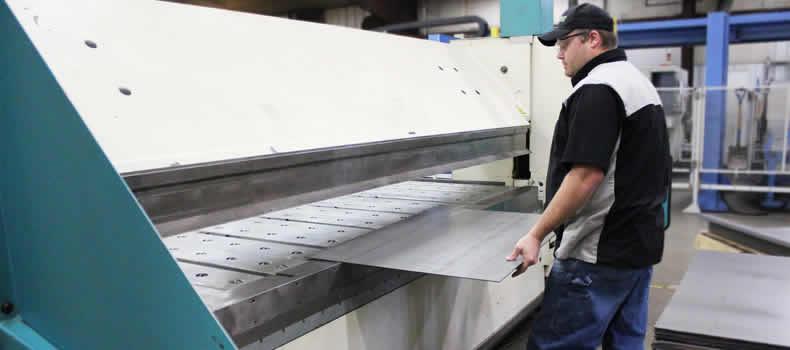 CNC Folding Machine at Cedar Lake Engineering