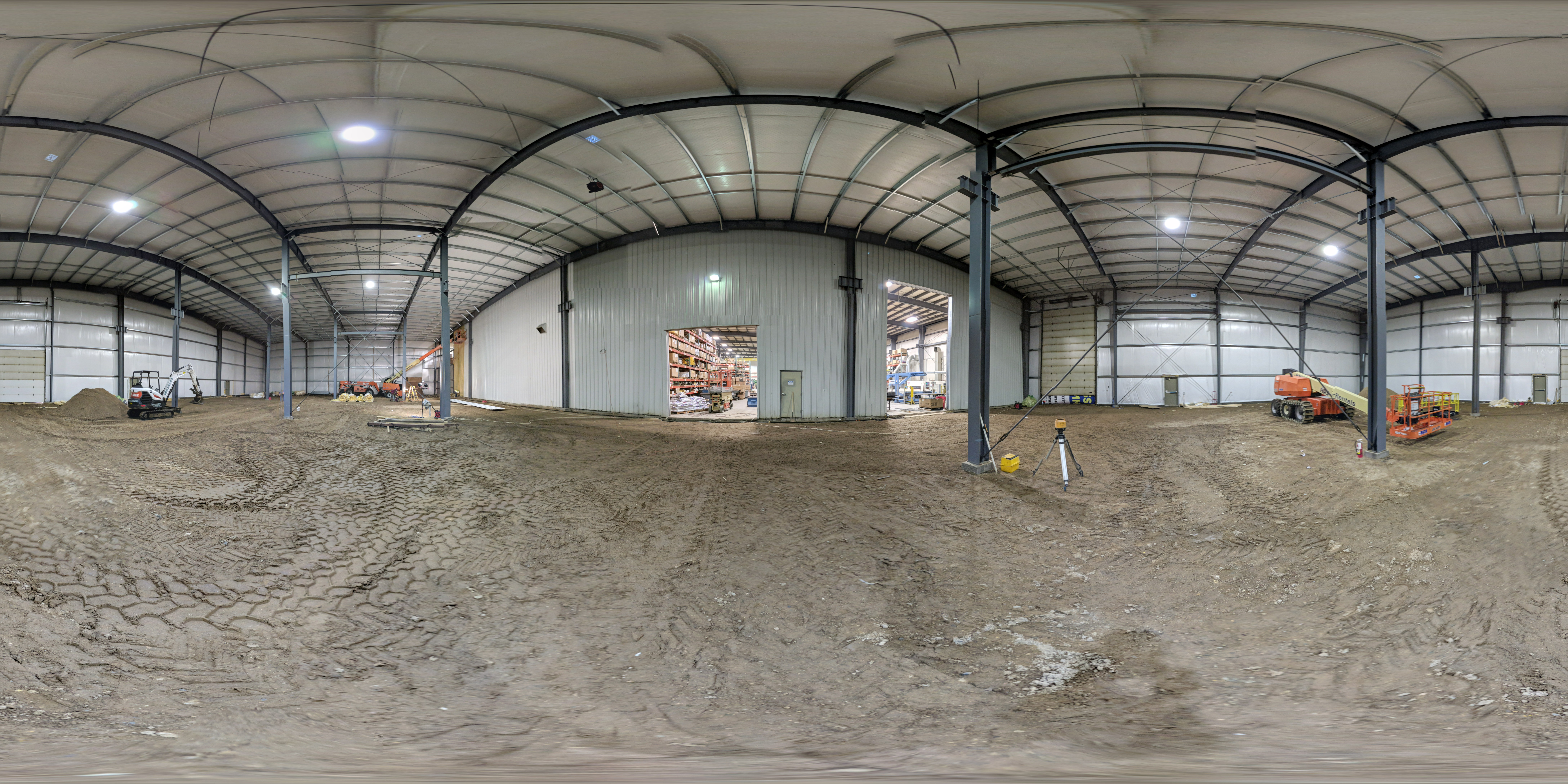 360 View of the Construction Site of Cedar Lake Engineering