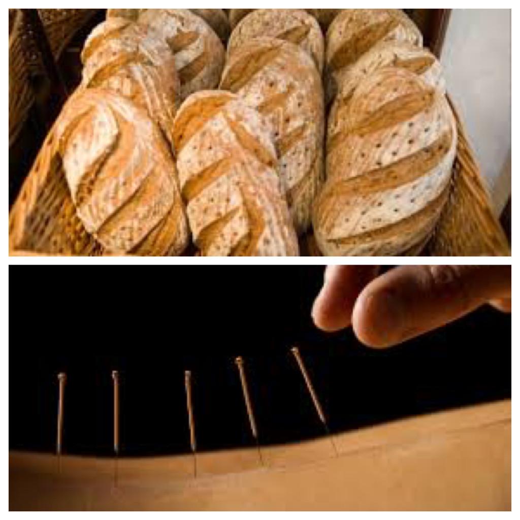 Fresh Bread Or Acupunture