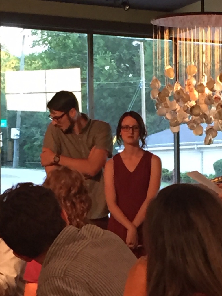 How I  Made The Groom Cry At The Rehearsal Dinner.