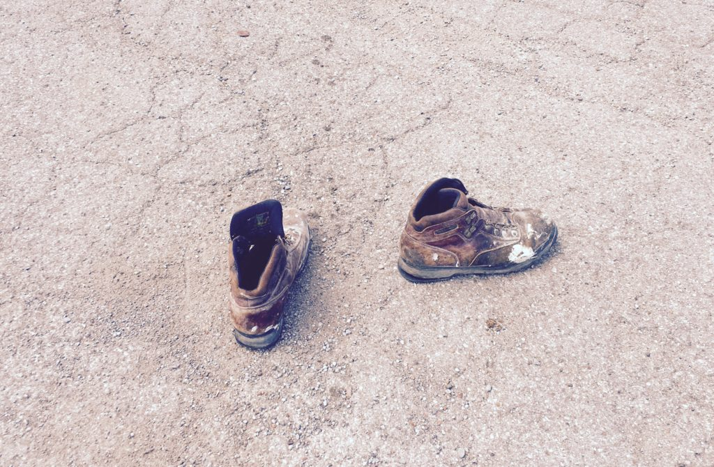 Abandoned Shoes