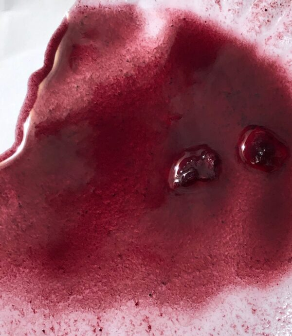 Blueberry Puree Sweet Topping