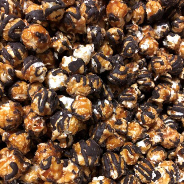 Chocolate Drizzled Caramel Corn Dry Bait