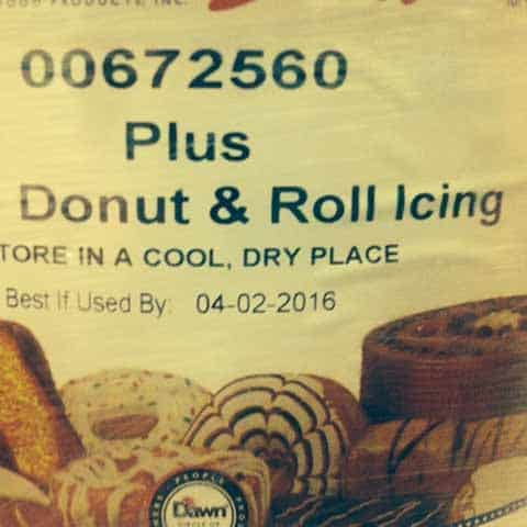 Donut Icing Sweet Topping