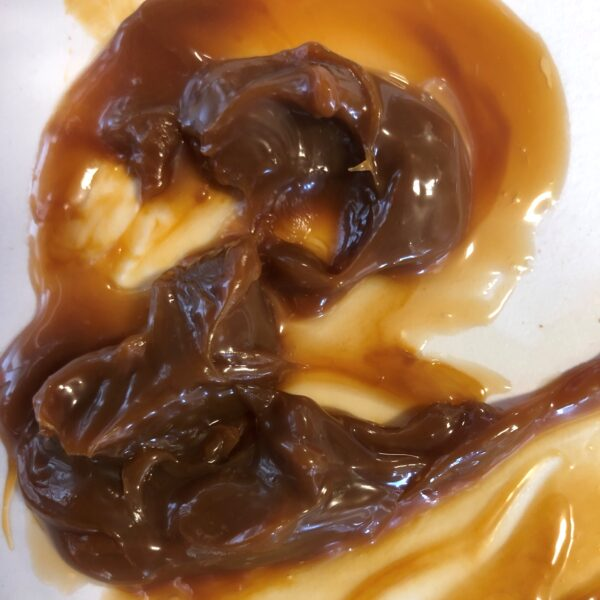 Caramel in a 4 gallon pail
