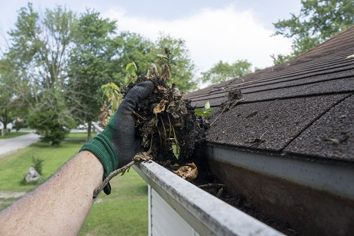 Gutter Cleaning in New Baltimore, MI