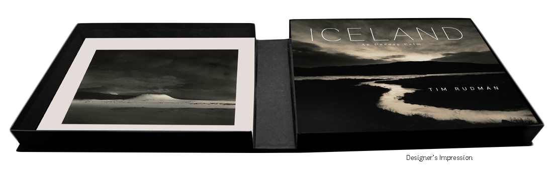 Tim Rudman's 'Iceland, An Uneasy Calm' Deluxe boxed edition