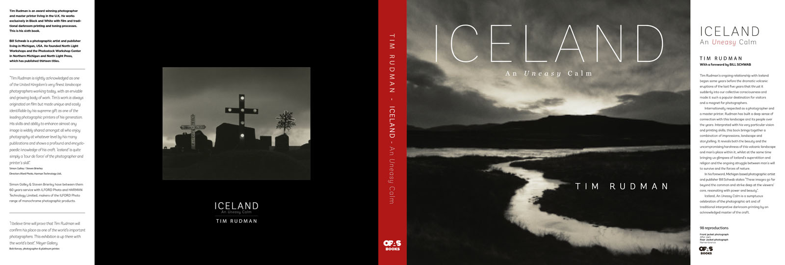 Iceland, An Uneasy Calm dust jacket