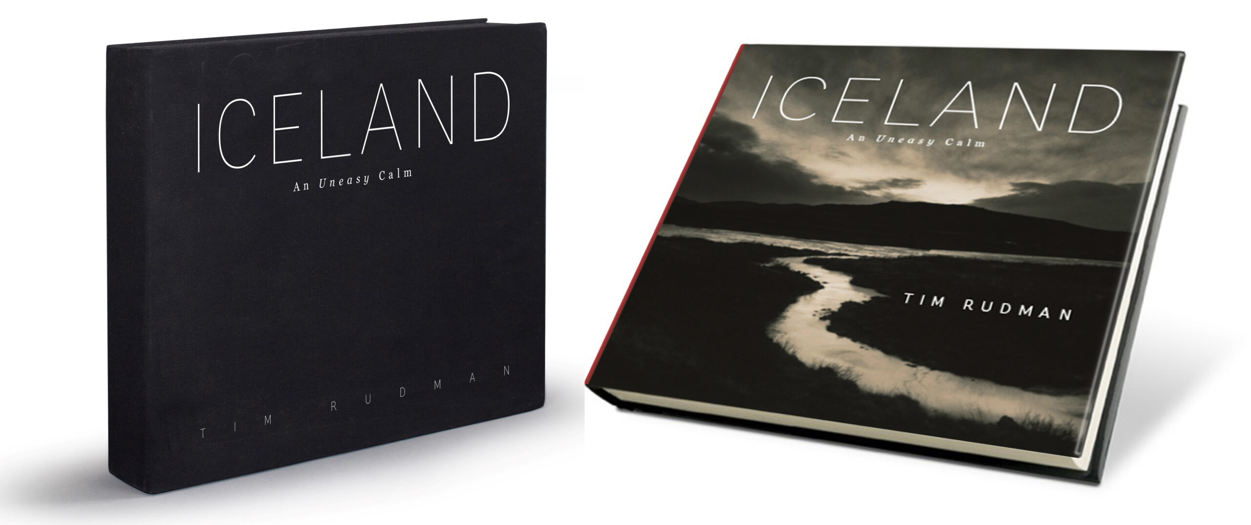 Tim Rudman's 'Iceland, An Uneasy Calm' standard boxed edition