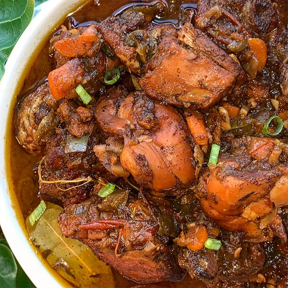 Jamaican Stewed Chicken Recipe