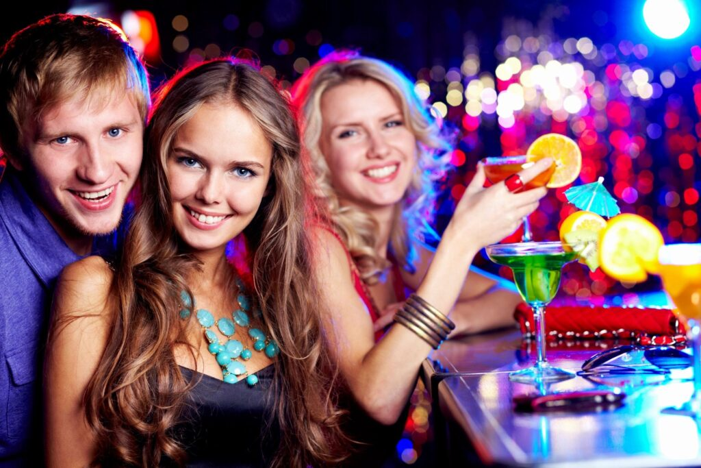 top 20 party cities