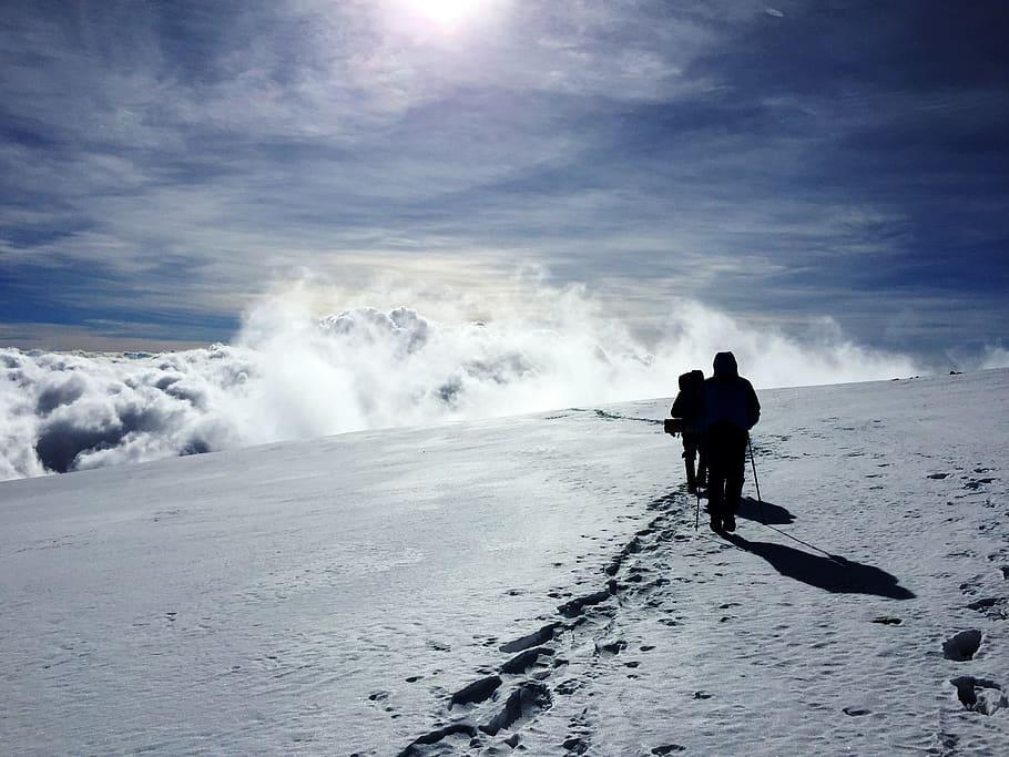 kilimanjaro snow in Africa