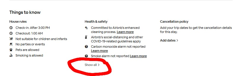Can Airbnb have cameras 5