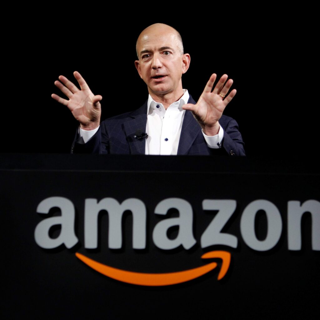 Jeff Bezos-How To Become a Billionaire