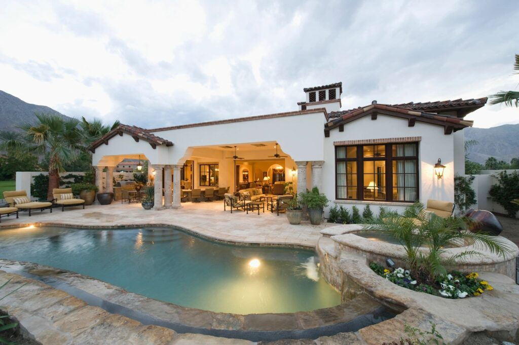 airbnb with pool