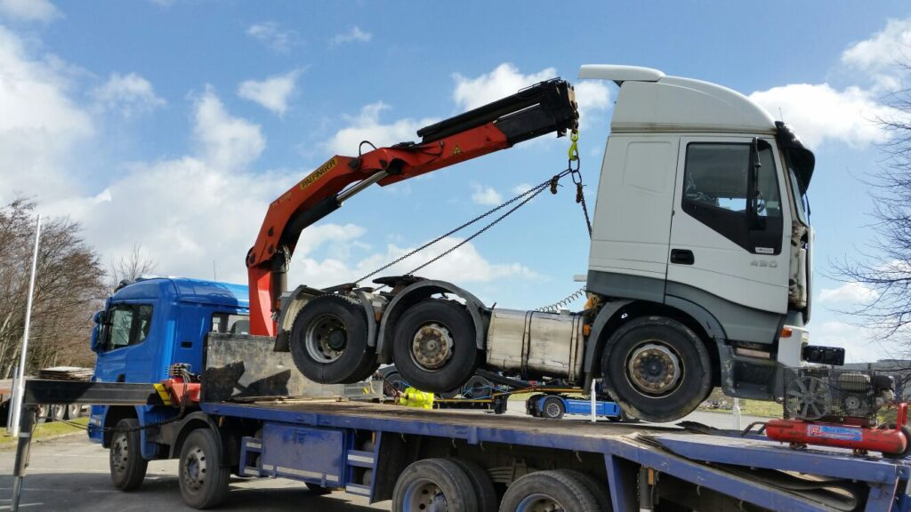 Heavy recovery towing Winchester